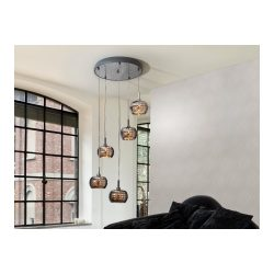 Large Cluster Ceiling Chandeliers from I4L