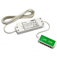 15W LED Driver with 6 Port Junction Box