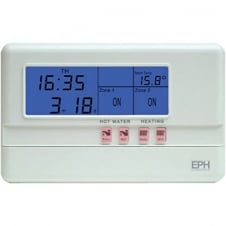 7 Day Digital Timer Clock (Hot Water & Heating)