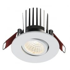 Ansell Savona AC LED Integrated Gimbal Downlight White