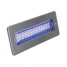 Libretto LED Bricklight Blue 2W LED Stainless Steel