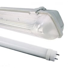 Pre-Wired Non Corrosive IP65 Linear for T8 LED Tubes
