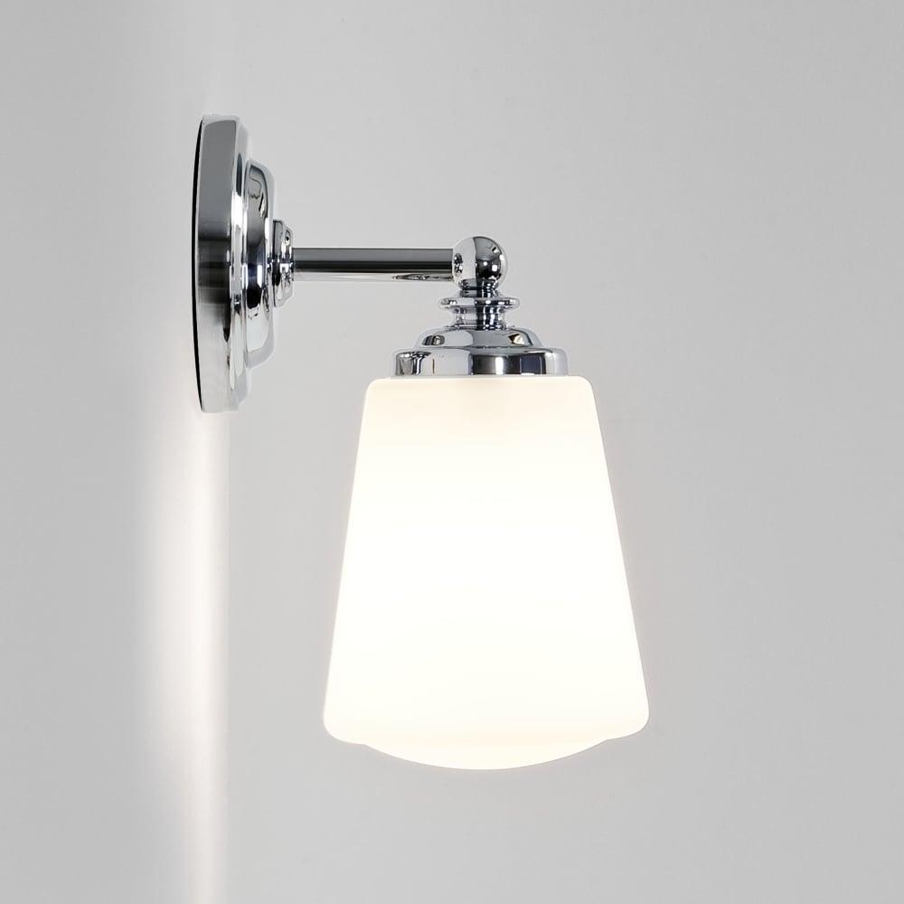 Anton Chrome Bathroom Wall Light Sconce Ip44
