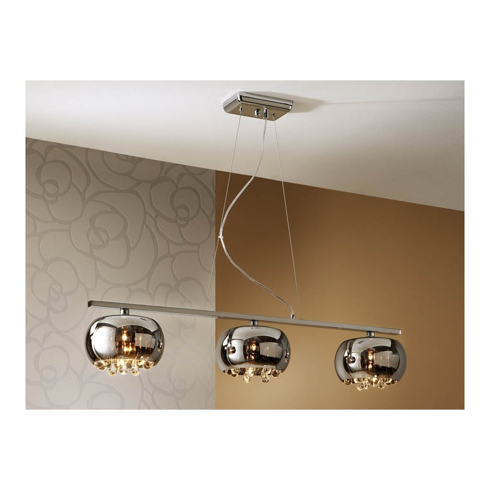 Schuller Argos Floating Ceiling Bar Bowl Pendants