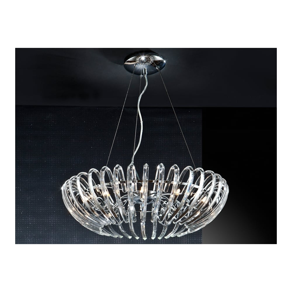 Schuller 876113 ariadna lamp 12l ideas4lighting sku20751i4l ariadna open oval crystal chandelier mozeypictures Gallery