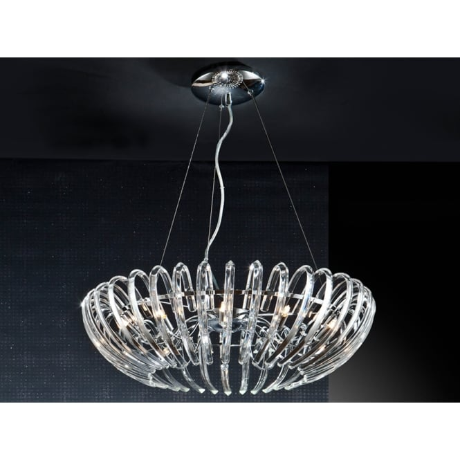 Schuller Ariadna Open Oval Crystal Chandelier