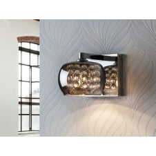Arian Glass Diamond Wall Light