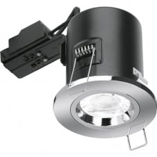 GU10 Fire Rated Fixed Downlight - Nickel
