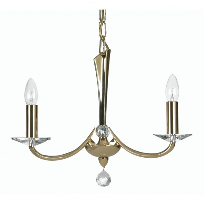 Pedret Bahia 3 Light Pendant Gold
