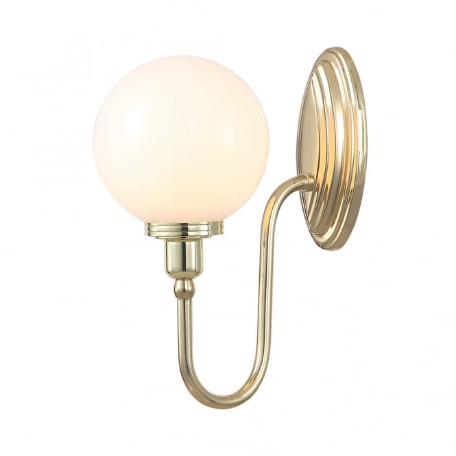 Elstead Bathroom Blake Globe Wall Light