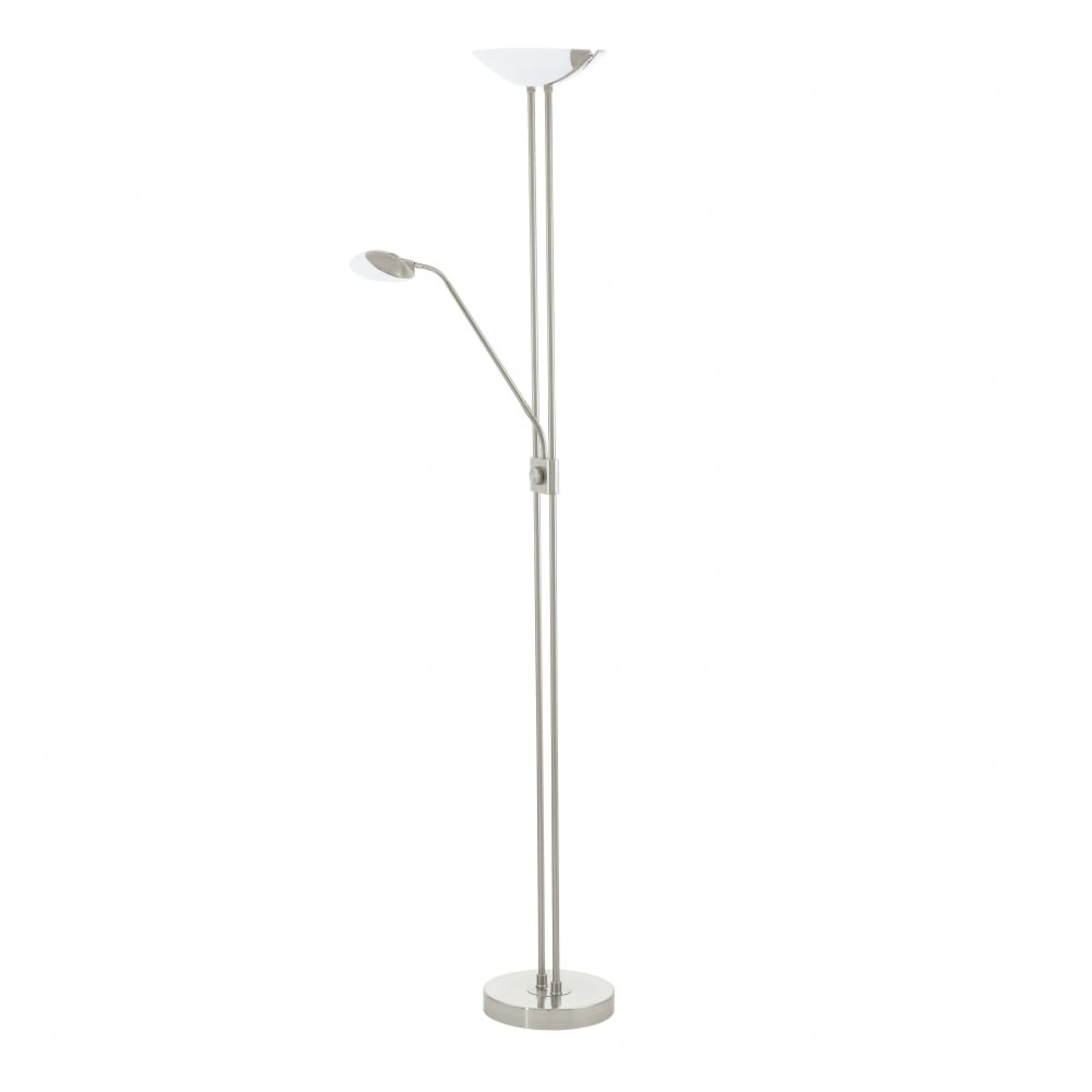 Eglo baya led twin upright floor lamp ideas4lighting sku23819i4l baya led twin upright floor lamp mozeypictures Image collections