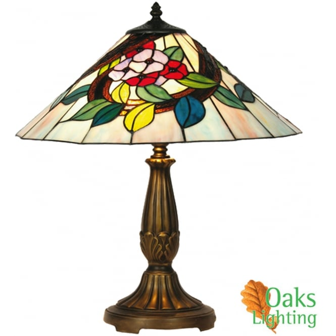 Oaks Belle Tiffany Table Lamp