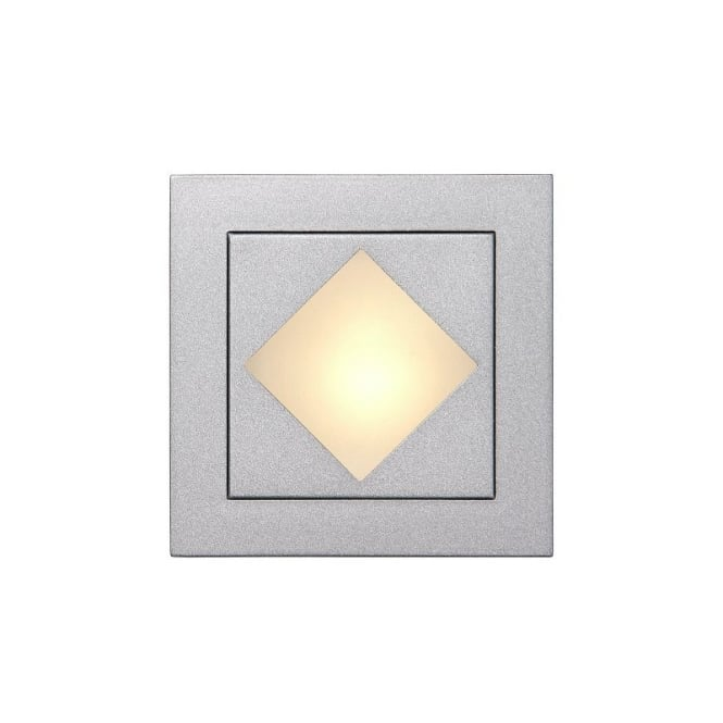 Lucide BEN Wall light recessed square + grill 8cm 12V/G4