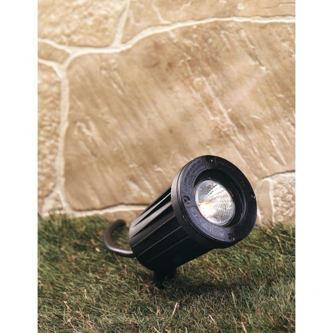 Firstlight Black Porch Light Garden Spike Light