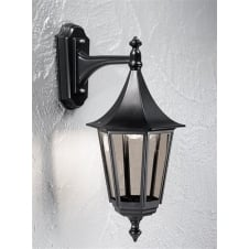 Boulevard Black Exterior Wall Bracket (Down)