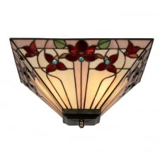 Camillo Tiffany Uplighter