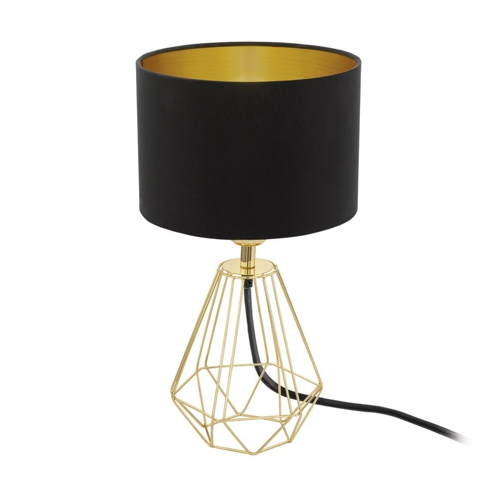 Eglo 95788 Carlton Gold Wire Frame Table Lamp | Ideas4lighting | SKU24763I4L