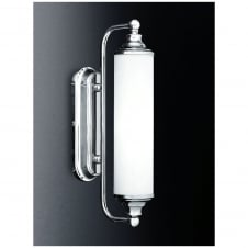 Chrome Wall Bracket with Glass 13W