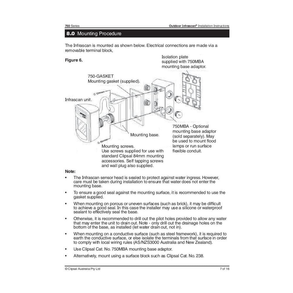 clipsal outdoor pir motion sensor infrascan ip66 p5181 7258_image clipsal sensor wiring diagram efcaviation com light switch wiring diagram australia hpm at n-0.co