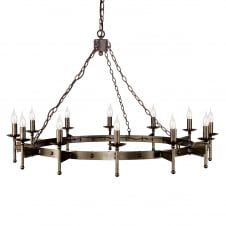 Cromwell Ceiling Light Candle Ring