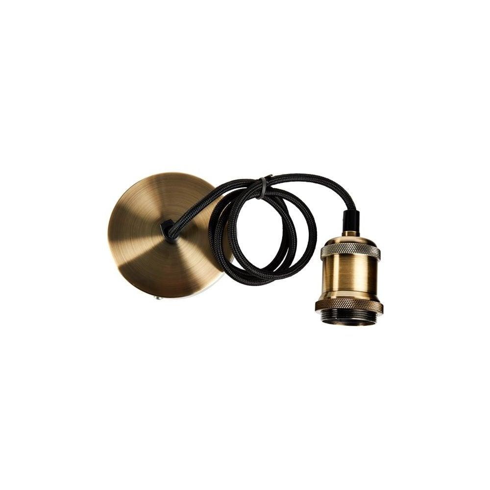 Decorative Pendant Light Cable Set Bronze Ideas4lighting