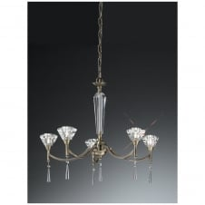 Desian Bronze 5 Light Ceiling Fitting