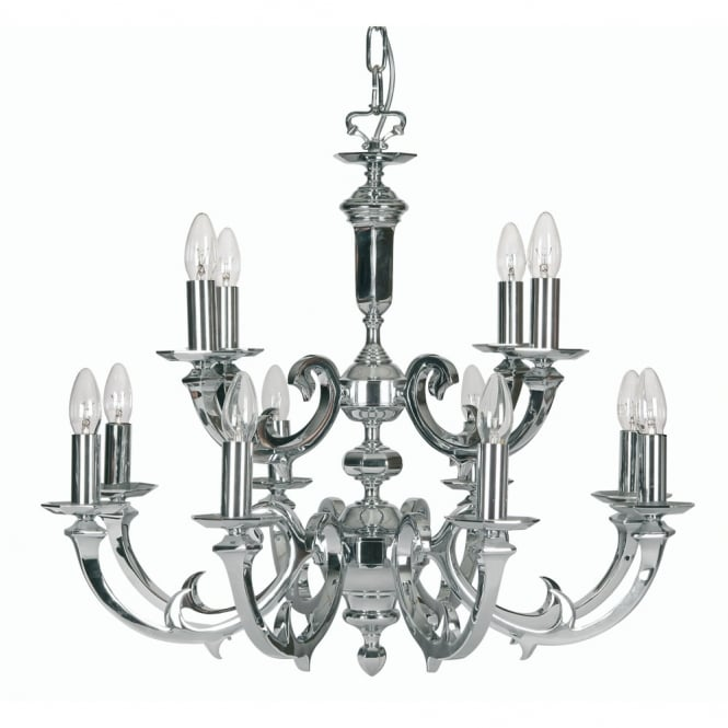 Pedret Dorchester 12 Light Pendant