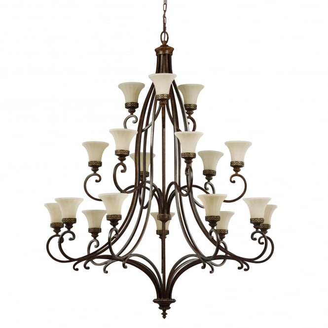 Feiss Drawing Room 18lt Chandelier