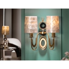 Eden Gold Wall Lamp, 2L