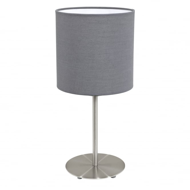 Eglo  PASTERI Grey Table Lamp