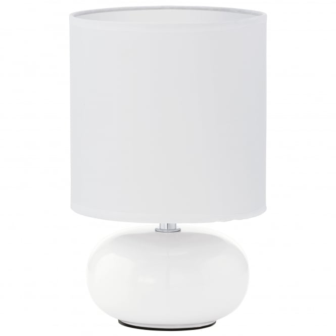 Eglo TRONDIO Oval White Table Lamp