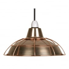 Elgg Copper Shade and Cage