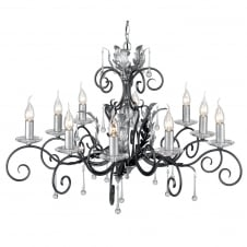 Amarilli Black Living Room Chandelier