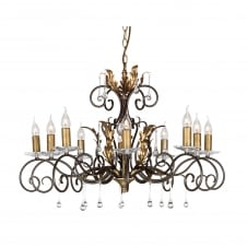 Amarilli Bronze Living Room Chandelier