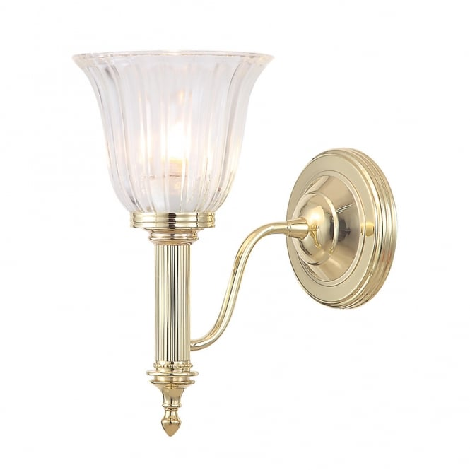 Elstead Bathroom Carroll1 Polished Brass