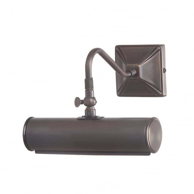Elstead Picture Light 1lt Small Aged Brass