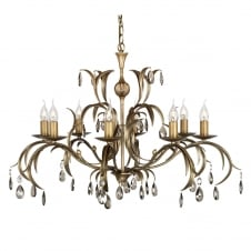 Lily Antique Flowing Ceiling Light