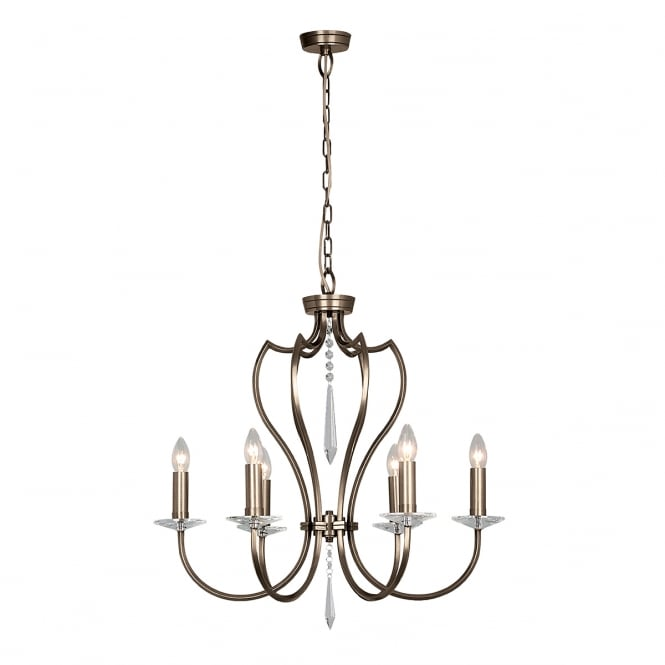 Elstead Pimlico Diamond Hanging Ceiling Light