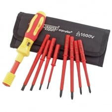 Expert Ergo Plus 9 Piece VDE Torque Screwdriver Set