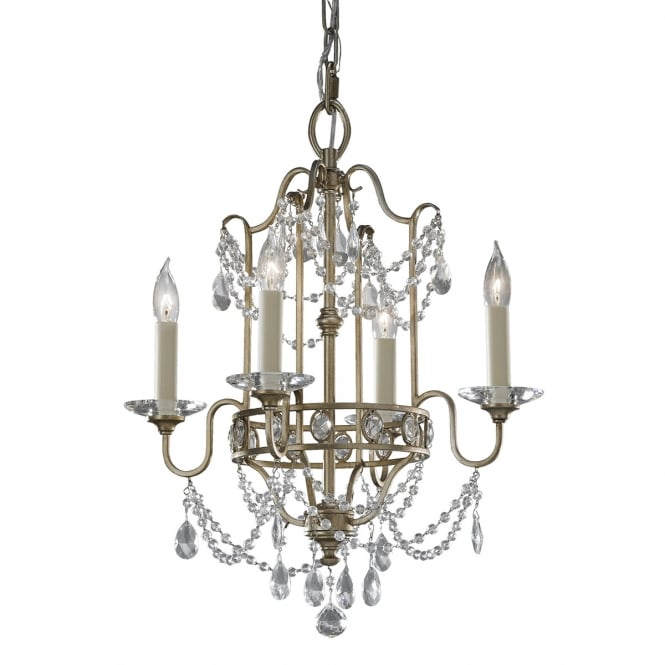 Feiss Gianna 4lt Chandelier