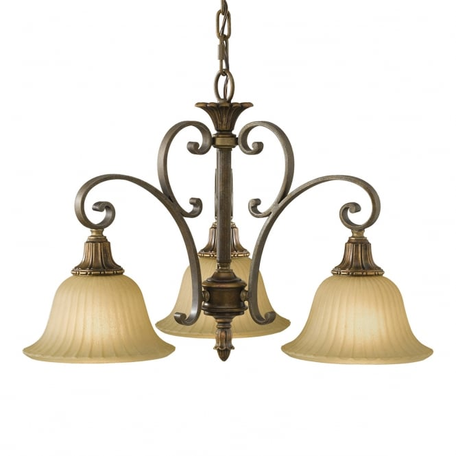 Feiss Kelham Hall Down 3lt Chandelier