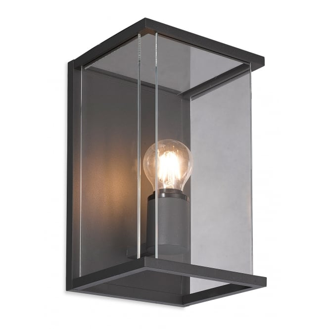 Firstlight Modern Graphite Box Wall Light