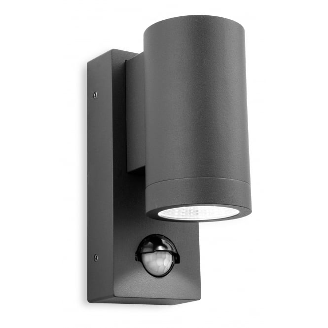 Firstlight Shelby Single LED Wall with PIR