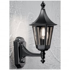 Boulevard Black Exterior Wall Bracket (Up)