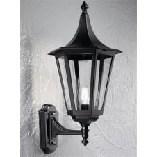 Boulevard Exterior Black Wall Bracket (Up Facing)