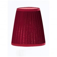 Burgundy Candle Shade (small)