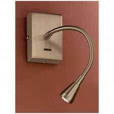 LED Bronze Reading Light with Switch