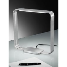 LED Satin Nickel Desk Lamp