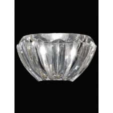24% Lead Crystal Bowl Light Shade