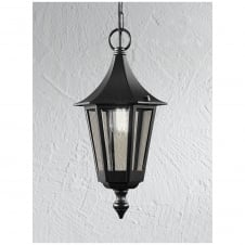 Boulevard Black Exterior Suspension Light